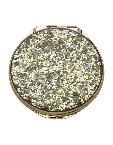 Kate Spade New York Simply Sparkling Compact-GOLD-One Size
