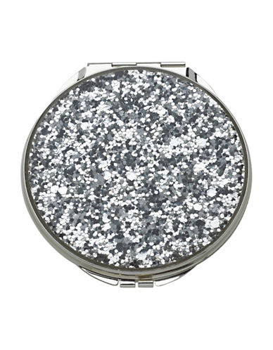 Kate Spade New York Simply Sparkling Compact-SILVER-One Size