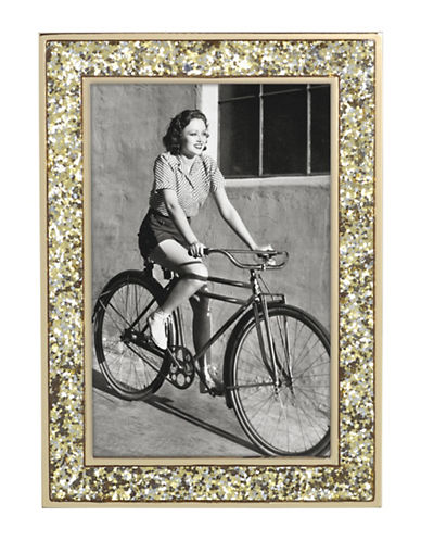 Kate Spade New York Simply Sparkling Frame 4x6-GOLD-4 x 6