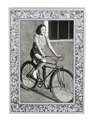 Kate Spade New York Simply Sparkling Frame 4x6-SILVER-4 x 6