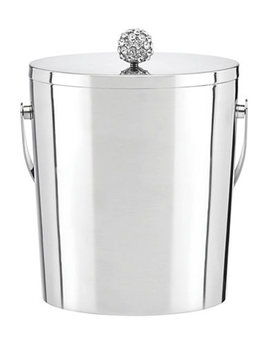 Kate Spade New York Two Of A Kind Ice Bucket-STAINLESS-One Size