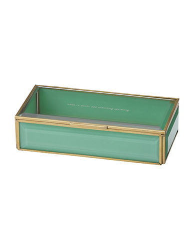 Kate Spade New York Out Of The Box Jewelry Box-TURQUOISE-One Size