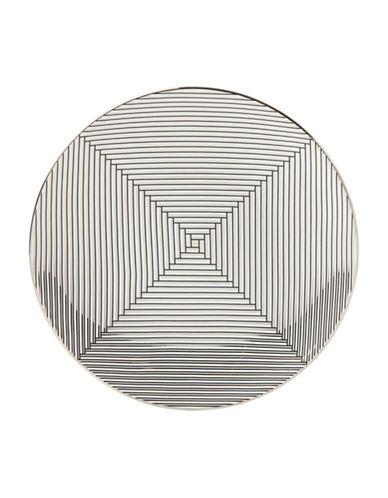 Brian Gluckstein By Lenox Winston Geometric Accent Plate-WHITE-9
