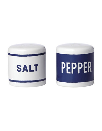 Kate Spade New York Orders Up Salt and Pepper Shaker Set-BLUE-One Size