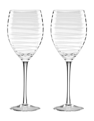 Kate Spade New York Charotte White Wine Glasses-WHITE-One Size