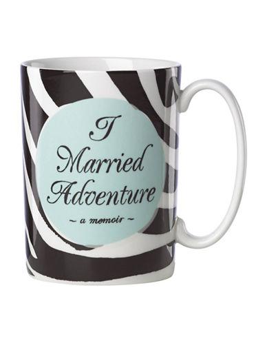 Kate Spade New York A Married Adventure Mug-BLACK-One Size