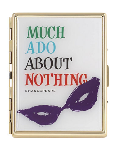 Kate Spade New York Much Ado About Nothing ID Holder-WHITE-One Size
