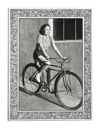 Kate Spade New York Simply Sparkle 5x7 Frame-SILVER-One Size