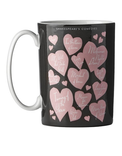 Kate Spade New York As You Like It Mug-BLACK-One Size