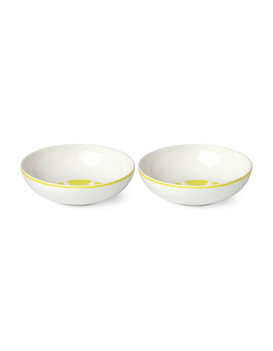 Kate Spade New York Two-Piece Twist Bowl Set-YELLOW-5 Inches