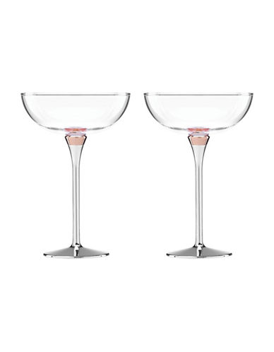Kate Spade New York Orders Up  Rosy Glow Champagne-CLEAR-One Size