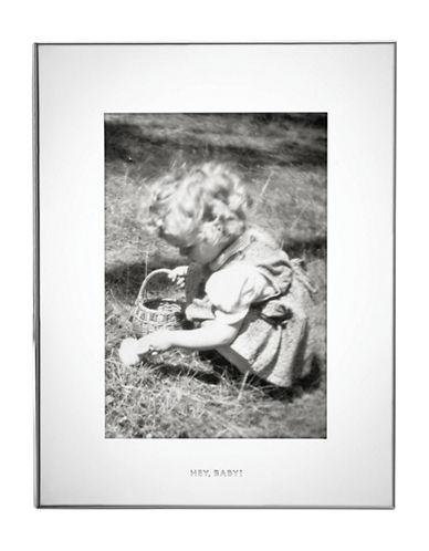 Kate Spade New York Bundle of Joy Silverplate Photo Frame-SILVER-5 x 7