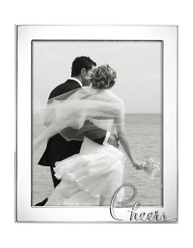 Kate Spade New York In A Word Cheers Frame-SILVER-8 x 10