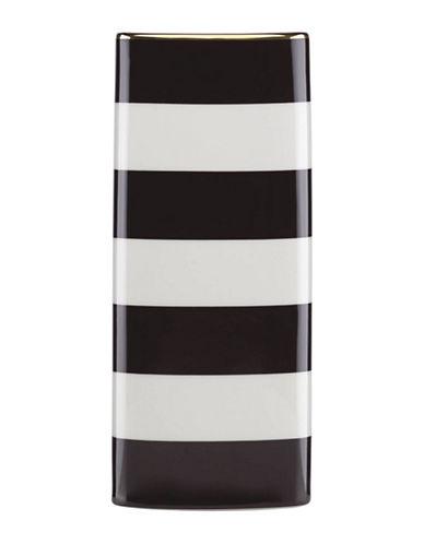 Kate Spade New York Everdon Lane Vase-WHITE/BLACK-One Size