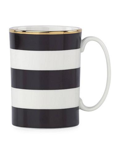 Kate Spade New York Everdon Lane Mug-WHITE/BLACK-350 ml