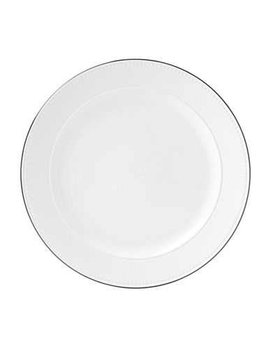 Kate Spade New York York Avenue Porcelain Round Platter-WHITE-One Size