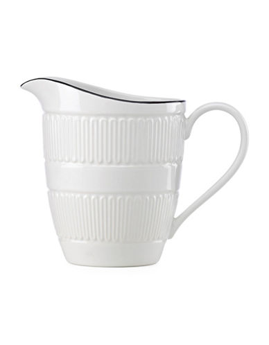 Kate Spade New York York Avenue Porcelain Creamer-WHITE-One Size