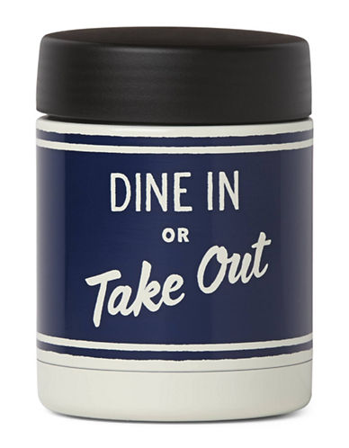 Kate Spade New York All in Good Taste On The Go Insulated Orders Up Food Container-NAVY-One Size