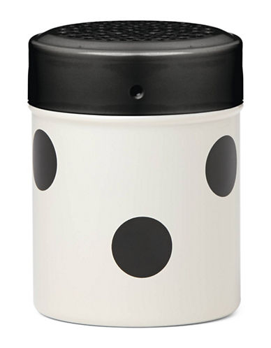 Kate Spade New York All in Good Taste Pop By Seasoning Shaker-WHITE/BLACK-One Size