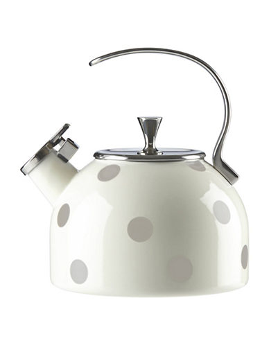 Kate Spade New York Deco Dot Kettle-BEIGE-One Size
