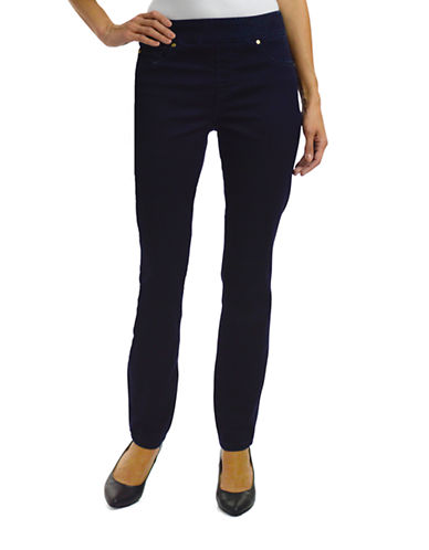 Haggar Pull-On Dream Jeans-MIDNIGHT-14