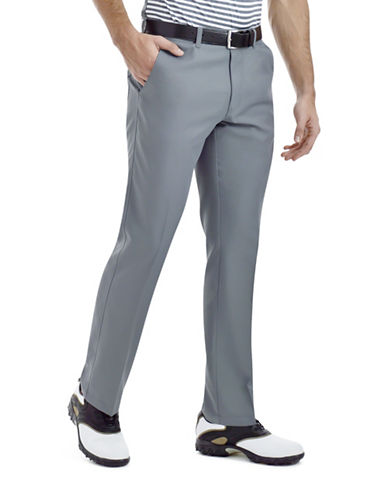 Haggar Straight-Leg Performance Pants-GREY-38X32 88426307_GREY_38X32