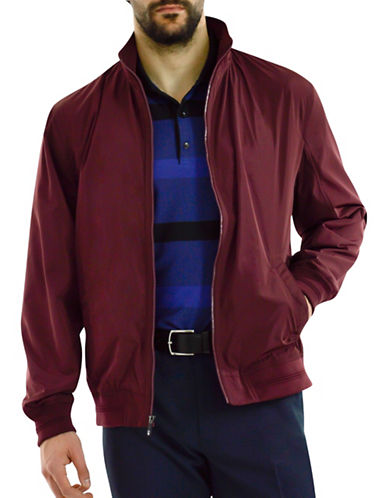 Haggar Water-Resistant Jacket-RED-Large 89077606_RED_Large