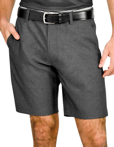 Haggar In Motion Shorts-CHARCOAL-38