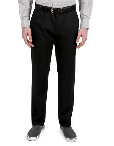 Haggar Rambler Slim-Fit Pants-BLACK-38X30