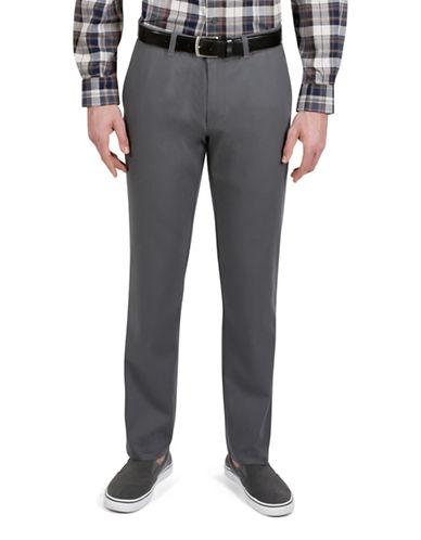 Haggar Rambler Slim-Fit Pants-GREY-42X30