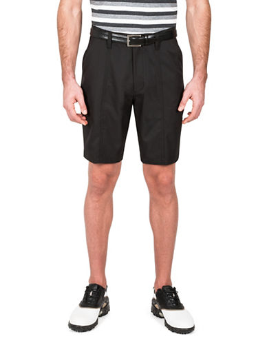 Haggar Active Motion Shorts-BLACK-36