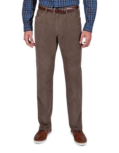 Haggar Heritage Straight-Fit Corduroy Jeans-BEIGE-32X32
