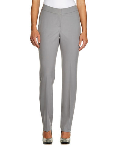 Haggar Tech Crepe Pants-GREY-10