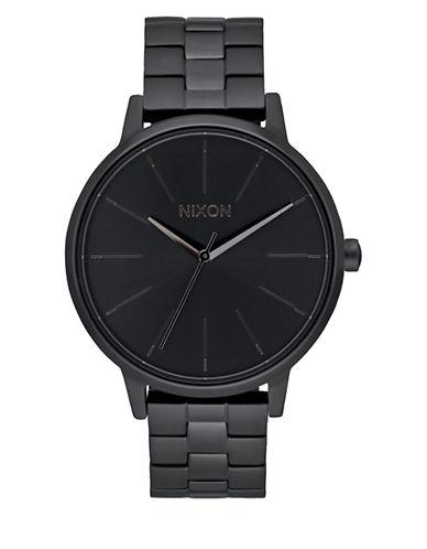 Analog Kensington Black Ip Bracelet Watch by Nixon