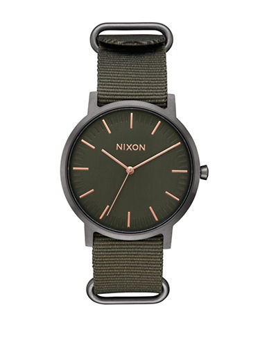Nixon Porter Nato Strap Watch-SURPLUS-One Size