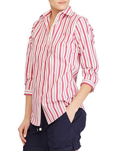 Lauren Ralph Lauren Striped Stretch Shirt 90109697