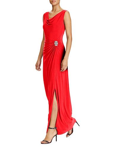 Lauren Ralph Lauren Sleeveless Cowl Neck Gown 89965234