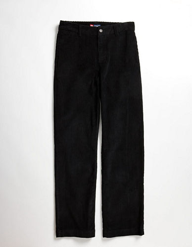 Chaps Boys 820 Cotton Corduroy Pants black 18