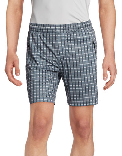 Mpg Nano Weight Ventilated Shorts-BLACK CHECK-XX-Large 88316765_BLACK CHECK_XX-Large