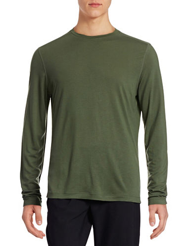 Mpg Essential Crew Long Sleeve T-Shirt-ECO GREEN-XX-Large 88316825_ECO GREEN_XX-Large