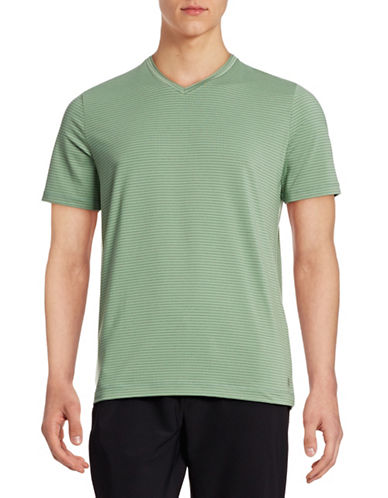 Mpg Performance Striped T-Shirt-ECO GREEN-XX-Large 88316900_ECO GREEN_XX-Large