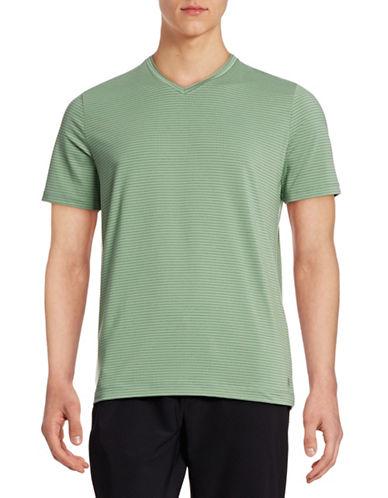Mpg Performance Striped T-Shirt-ECO GREEN-Medium 88316897_ECO GREEN_Medium