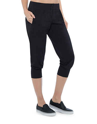 Mpg Simpatico Cropped Pants-BLACK-Medium 88276776_BLACK_Medium