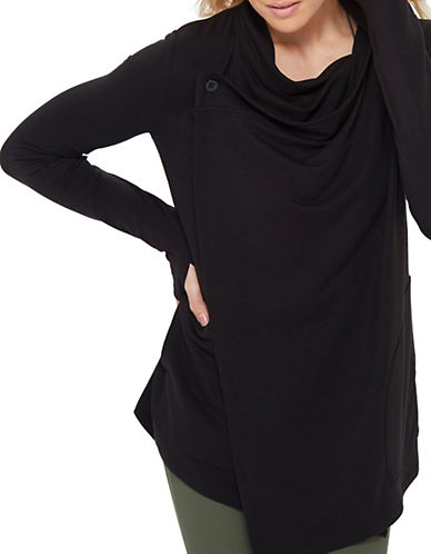 Mpg Wisdom Oversized Cardigan-BLACK-Large 88276874_BLACK_Large
