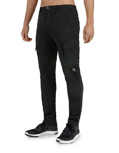 Mpg Lawrence Slim Organic Cotton Cargo Pants-BLACK-Medium 88696551_BLACK_Medium