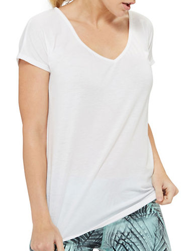 Mpg Melody Oversized Tee-WHITE-Large 88276869_WHITE_Large