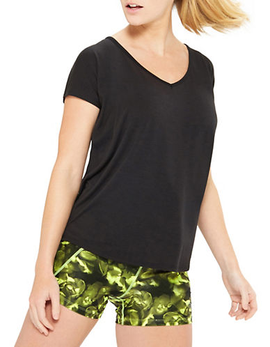 Mpg Melody Oversized Tee-BLACK-X-Large