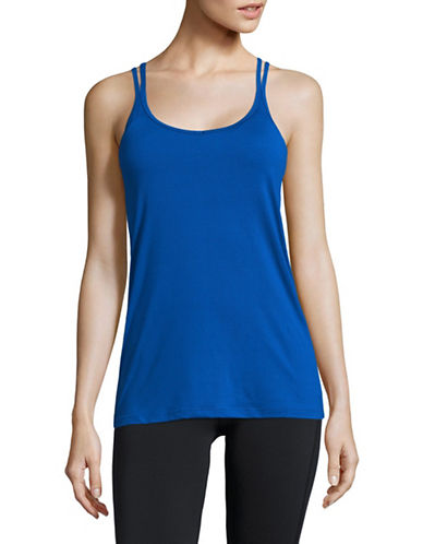 Mpg Padded Tank Top-COBALT-Large
