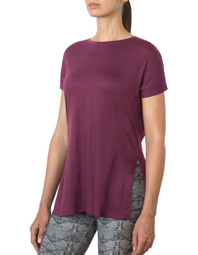 Mpg Pixel Split-Side Tee-PURPLE-X-Small 88676989_PURPLE_X-Small