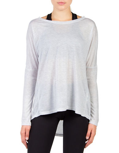 Mpg Chia Drape Top-GREY-X-Large 88676968_GREY_X-Large